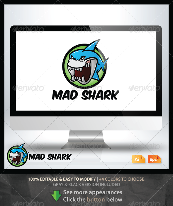 GraphicRiver Mad Shark 6478218