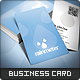 Rain Meter Business Card - GraphicRiver Item for Sale