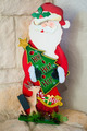 Wood Santa Christmas Statue - PhotoDune Item for Sale