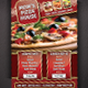 Food Flyer 2 (A5) - GraphicRiver Item for Sale