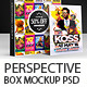 Perspective Box Mockup V2 - GraphicRiver Item for Sale
