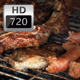 Barbecue, Grilled Meat and Sausages - VideoHive Item for Sale