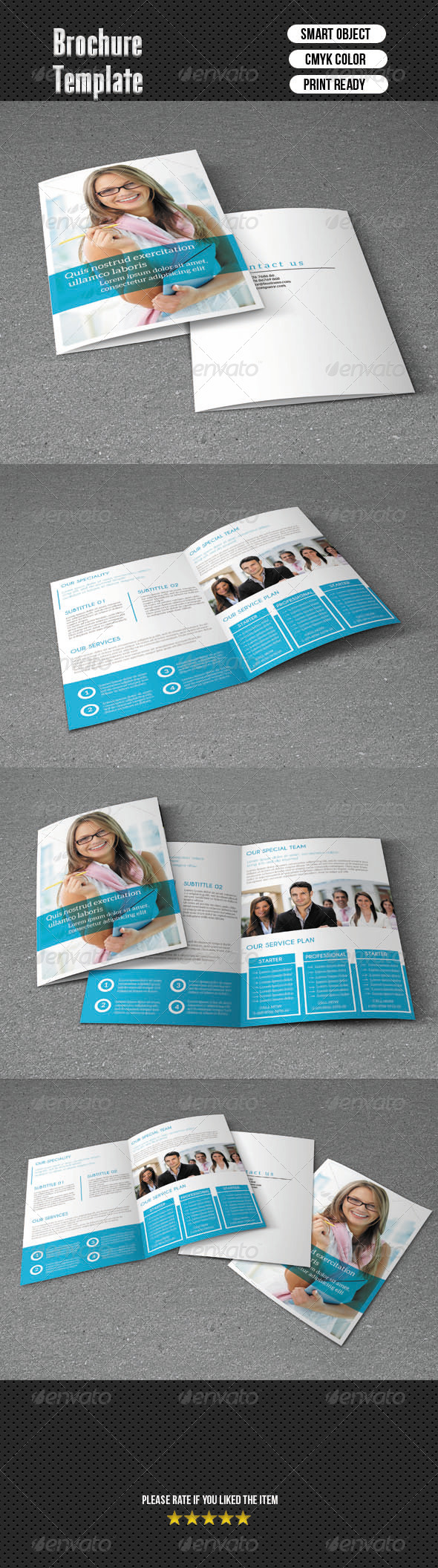 GraphicRiver Bifold Brochure-Business 6481795
