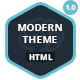 Modern Theme: Responsive HTML5 Retina Template - ThemeForest Item for Sale