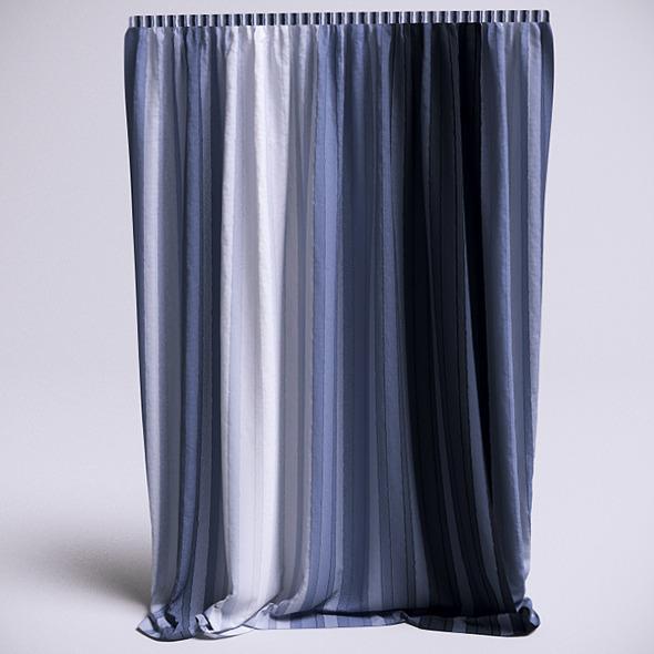 3DOcean Curtain 3 VrayC4D 6483119
