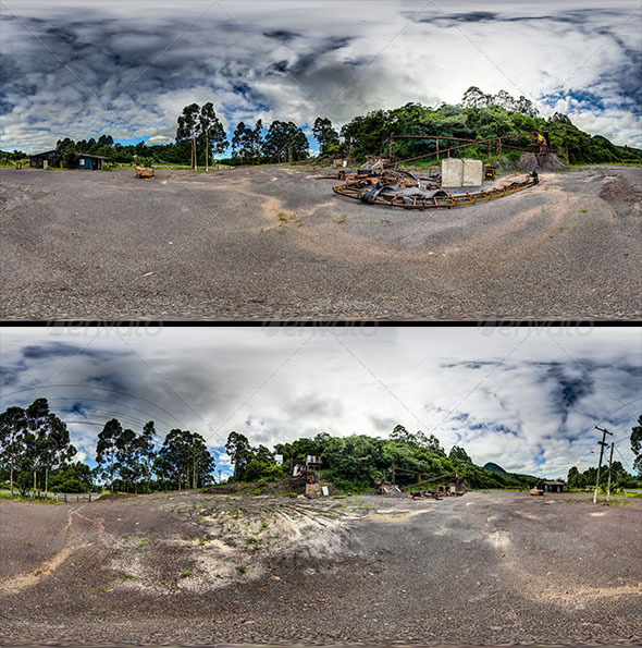 3DOcean 2 images in 360o Brazilian coast Quarry 6484525