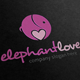 Elephant Love Logo - GraphicRiver Item for Sale