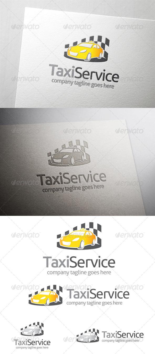 GraphicRiver Taxi Service Logo 6485912