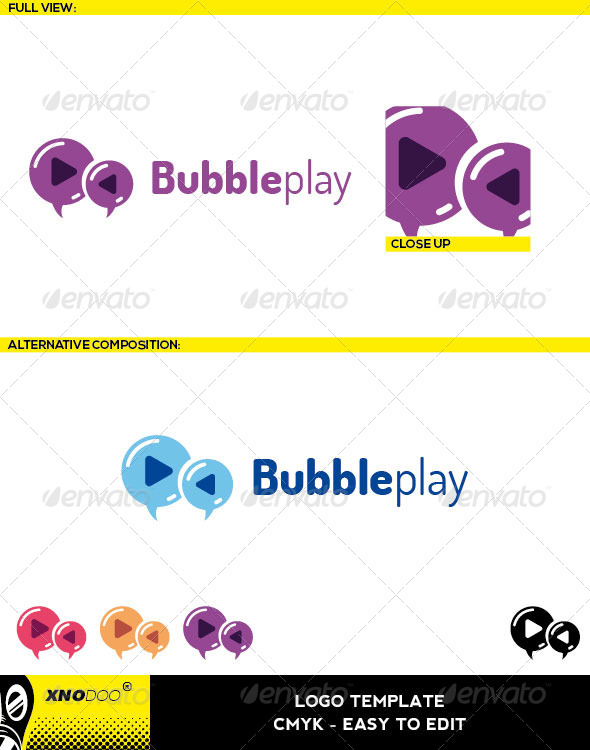 GraphicRiver Bubbleplay Logo 6486441