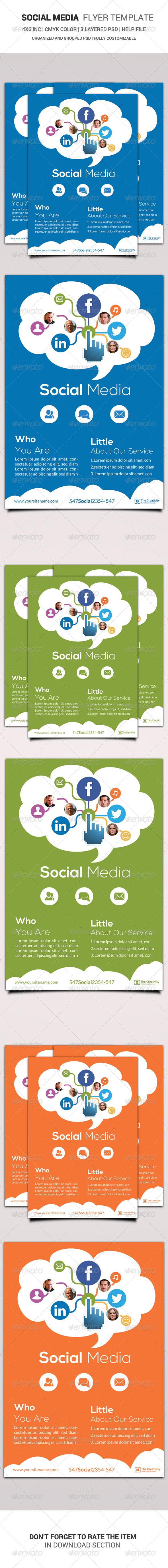 GraphicRiver Social Media Flyer Template 6469687
