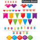Colored Garland Set - GraphicRiver Item for Sale