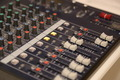 Audio Mixing Desk Sliders & Controls - PhotoDune Item for Sale