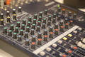 Audio Mixing Desk Controls - PhotoDune Item for Sale
