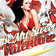 Be My Sweet Valentine Flyer - GraphicRiver Item for Sale
