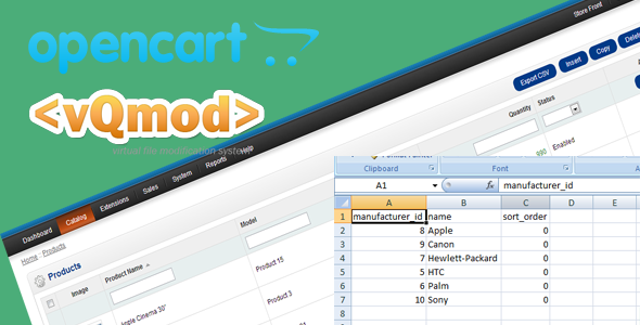 CodeCanyon Opencart Export csv Option Vqmod 6490109