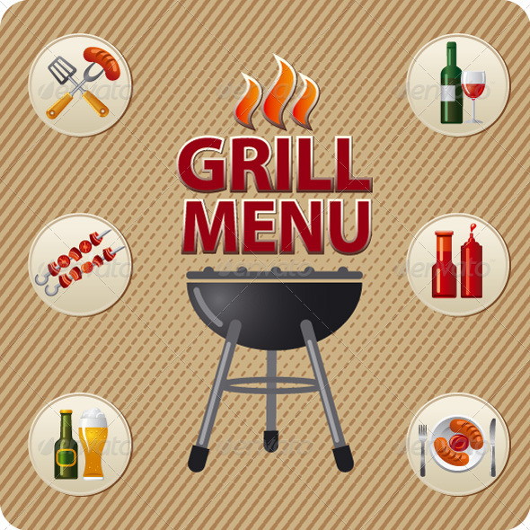 GraphicRiver Grill Menu Cover 6490405