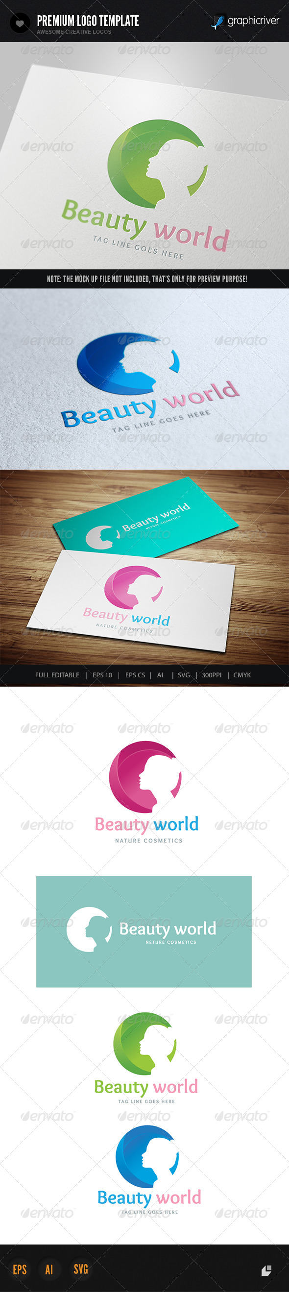 GraphicRiver Beauty World 6490540
