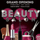 Flyer Beauty Salon Opening Promoting - GraphicRiver Item for Sale