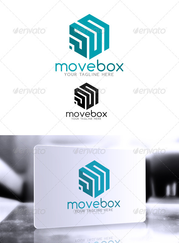 GraphicRiver MoveBox Logo 6493153