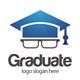 Geeks Graduate Logo - GraphicRiver Item for Sale
