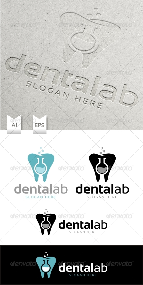 GraphicRiver Dental Lab Logo Template 6484446