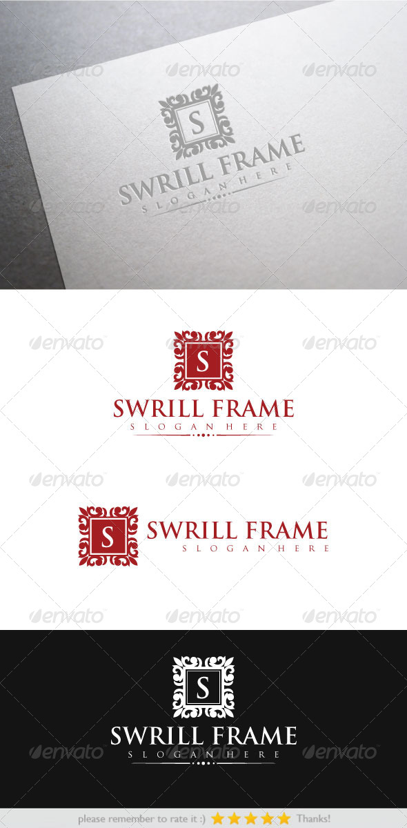 GraphicRiver Swrill Frame 6494706