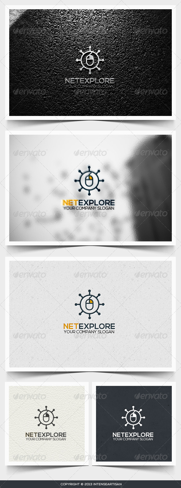 Net Explore Logo Template - Objects Logo Templates