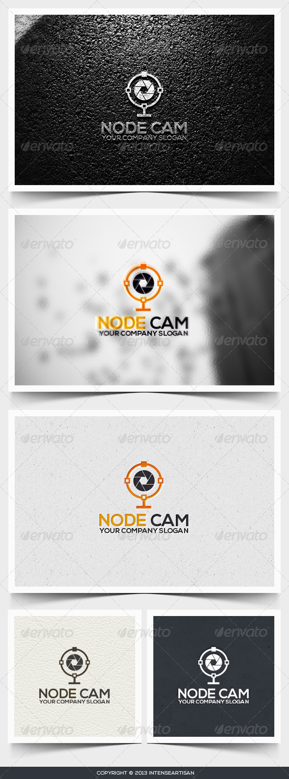 Node Cam Logo Template - Objects Logo Templates