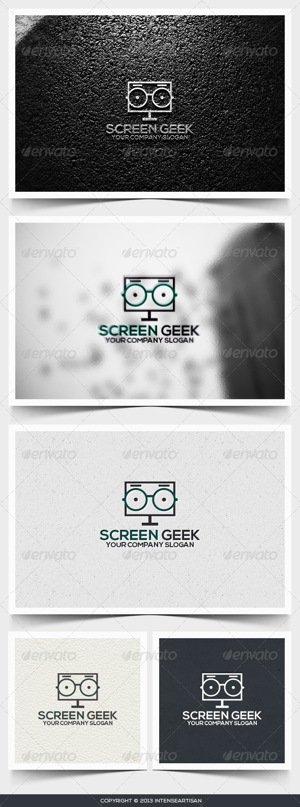 Screen Geek Logo Template - Humans Logo Templates