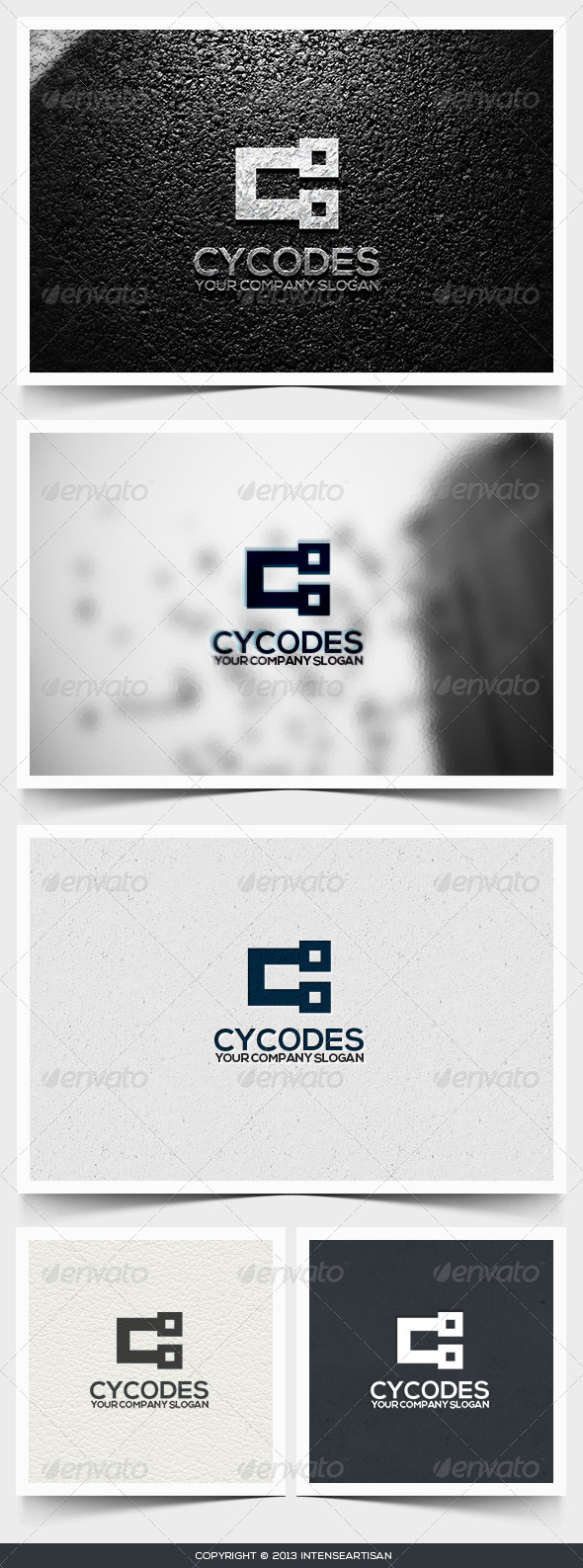 GraphicRiver Cycodes Logo Template 6495187
