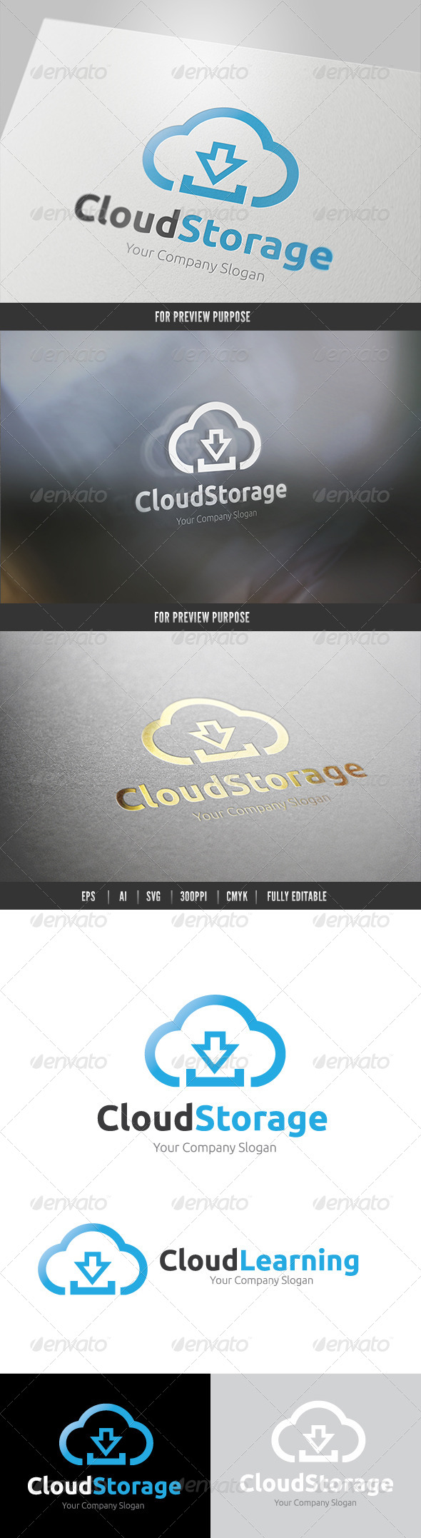 GraphicRiver Cloud Storage 6495629