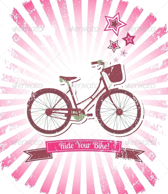 GraphicRiver Ride your Bike Banner 6497983