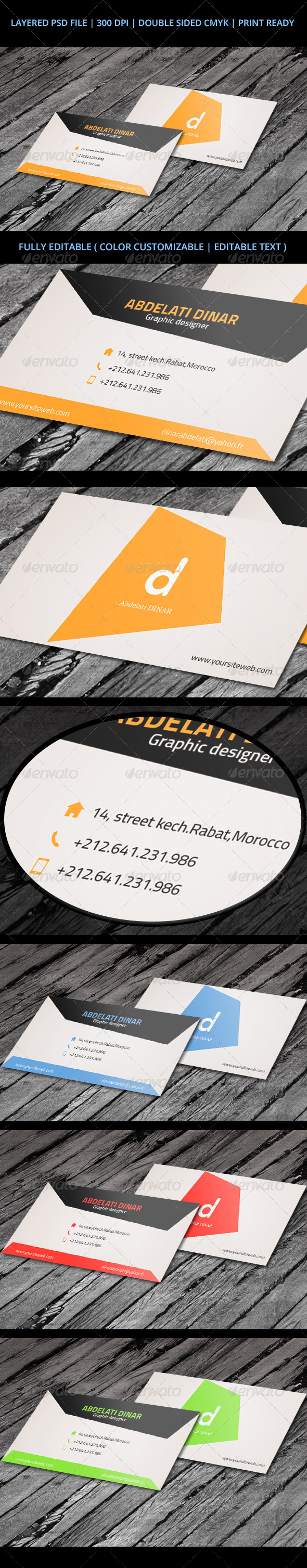 GraphicRiver Business Card 04 6498245