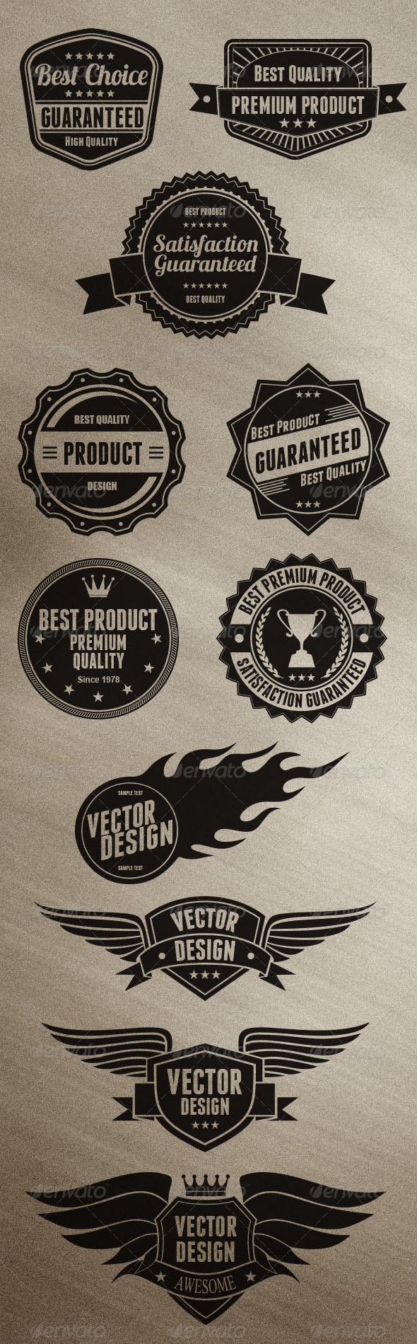 GraphicRiver Badges Design 6498350