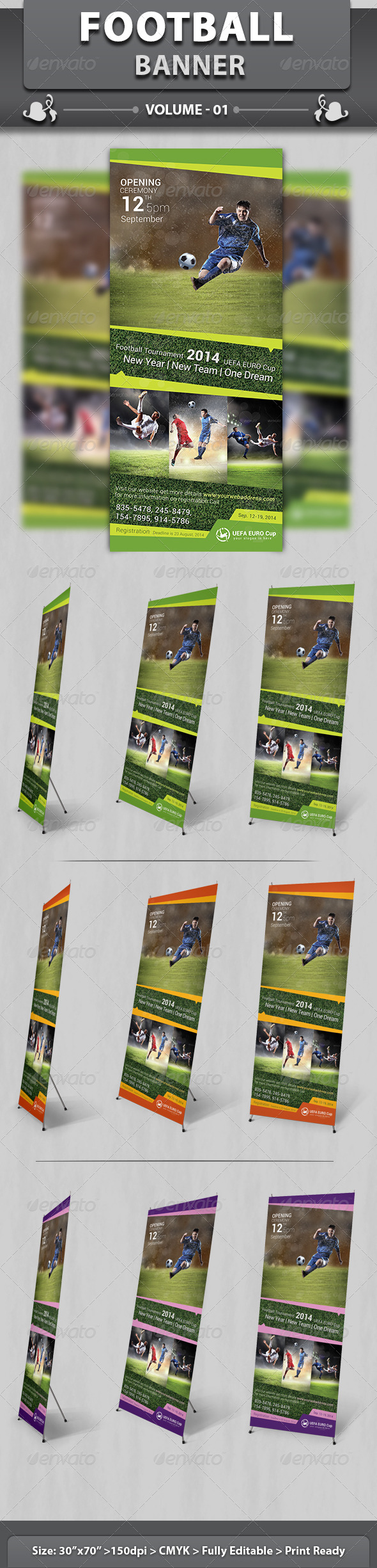 GraphicRiver Sports Business Banner Volume 1 6498926