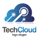 Tech Cloud Logo - GraphicRiver Item for Sale