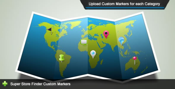 CodeCanyon Super Store Finder Custom Markers Add-on 6503100