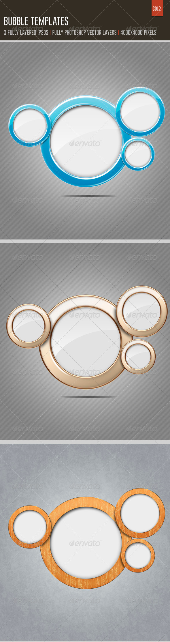 GraphicRiver Bubble Templates 6504182