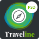 Traveline | Booking PSD Template - ThemeForest Item for Sale