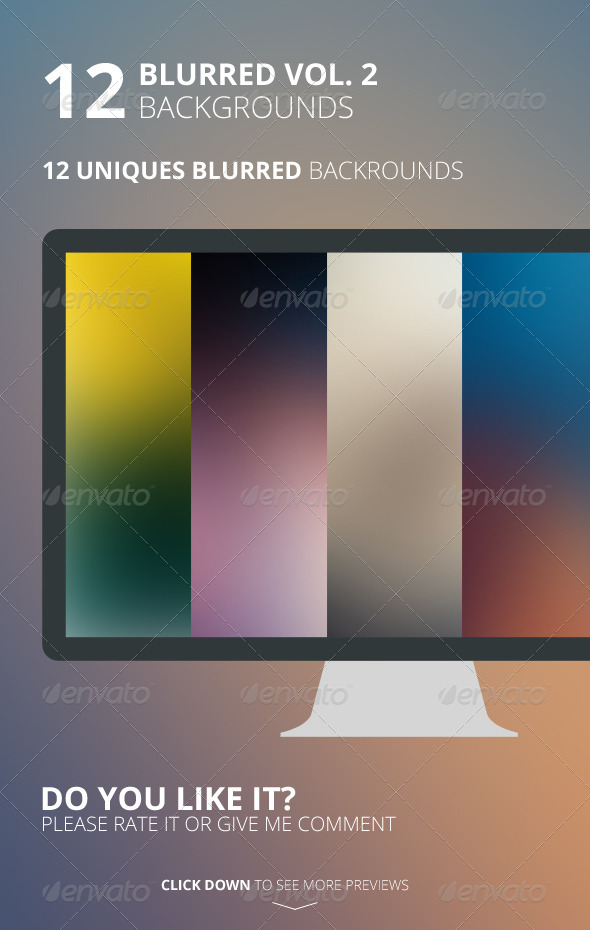 GraphicRiver 12 Blurred Backgrounds Vol 2 6504945
