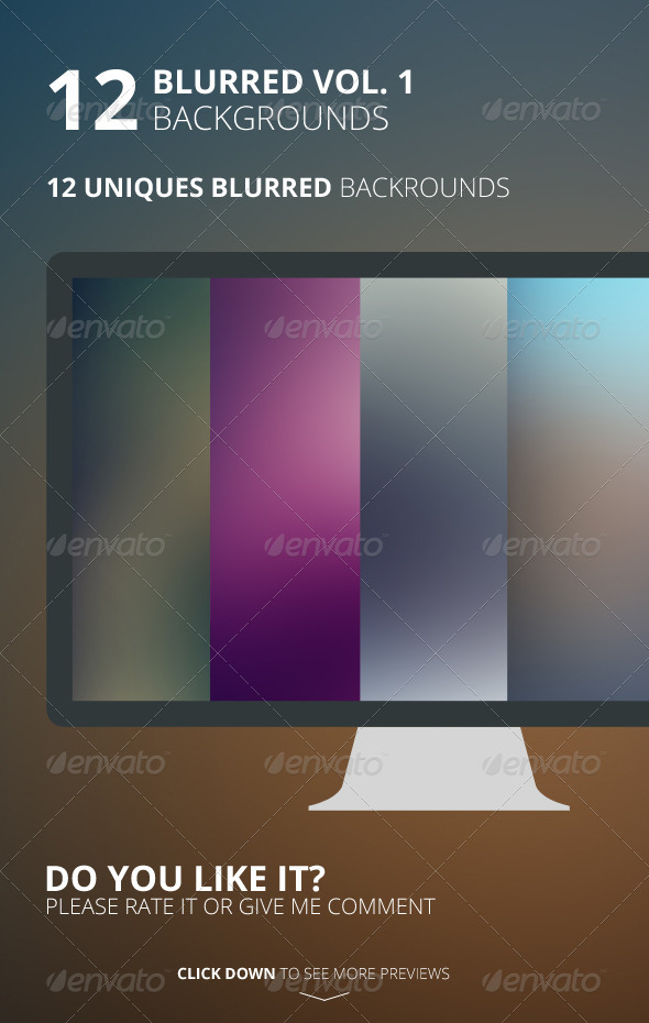 GraphicRiver 12 Blurred Backgrounds Vol 1 6487557