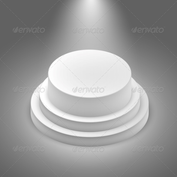 GraphicRiver White Empty Stage 6505115