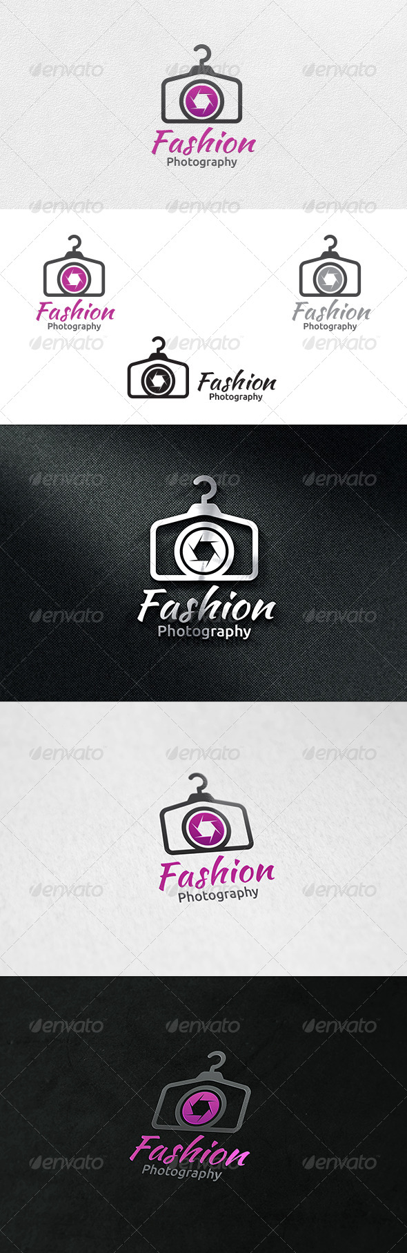 GraphicRiver Fashion Photography Logo Template 6505135