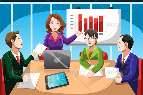 GraphicRiver Business Meeting 6506277