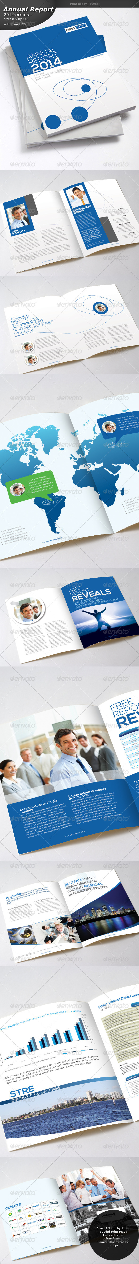 GraphicRiver Annual Report 2014 6506566