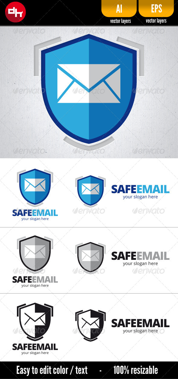 GraphicRiver Safe Email 6509225