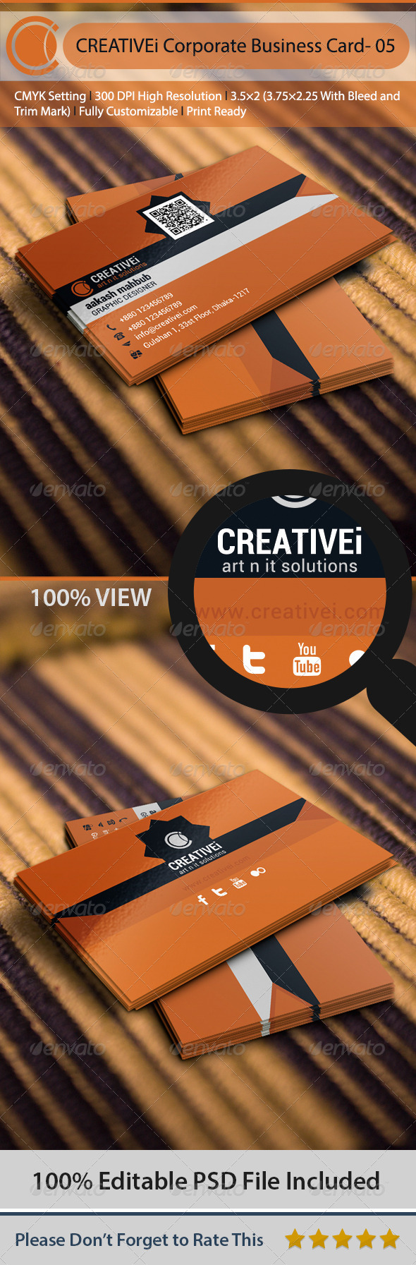 GraphicRiver Corporate Business Card- 05 6509503
