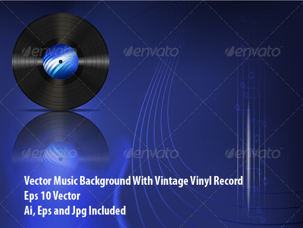 GraphicRiver Vinyl Record 6509506