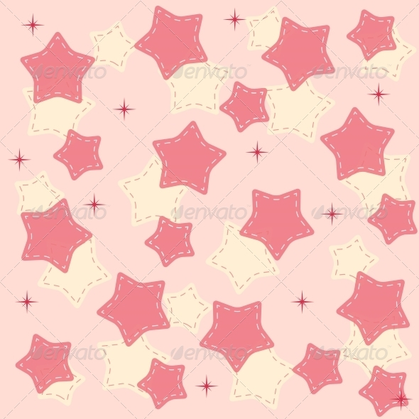 GraphicRiver Pin Stars Background Vector 6509855