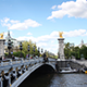 Bridge in Paris - Timelapse - VideoHive Item for Sale